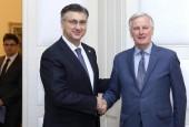 Plenković i Barnier o Brexitu i uređenju budućih odnosa EU-a i UK-a