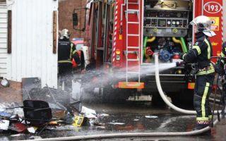 U požaru u Trnju pružena medicinska pomoć jednoj osobi