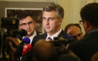 Plenković o Bandiću: 'Nisam to doživio kao dilemu - izbori ili projekti'