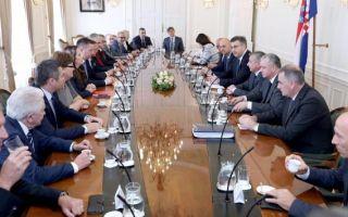 Nakon sastanka u Banskim dvorima Vidaković zahvalila Dalić