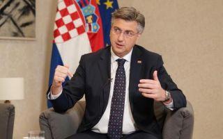 (VIDEO) Plenković ekskluzivno za MS: 'Dosta je korupcije'