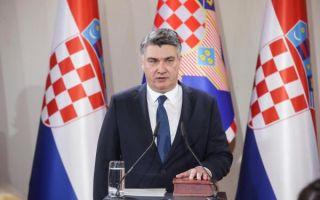 Zoran Milanović prisegnuo na dužnost predsjednika države