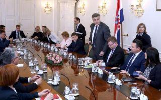 Banski dvori: Održan sastanak premijera s članovima GSV-a