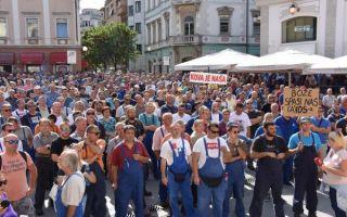 Sindikati: Ne bude li plaća u Uljaniku, idemo u štrajk!