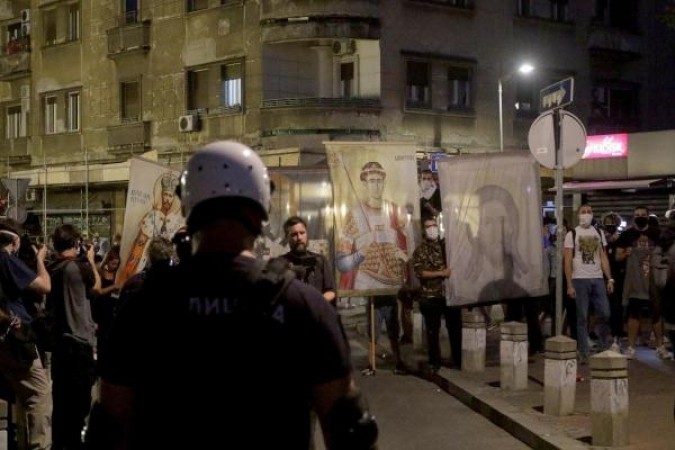Novi prosvjed u Beogradu, nova brutalnost policije
