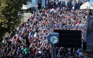 Tjedan obilježili vukovarski prosvjed, neuspješni opoziv Kujundžića i Brkićevi problemi