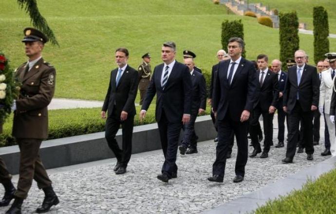 Obilježen Dan državnosti, Milanović: HDZ-ovo osvajanje većine 1990. ne može biti praznik svih