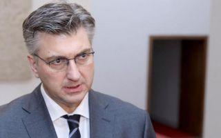 Plenković o Brkićevom spisu: 'Bolje da se našao nego da ga je netko otuđio'
