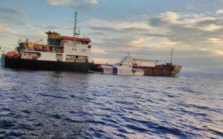 Turski teretni brod dotegljen u Trogir