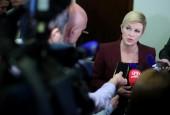 Predsjednica o ostavci Vlade Galića: 'Zahtjev za ostavku jest moralan čin'
