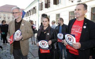 Sindikati najavili prosvjed i referendum protiv mirovinske reforme