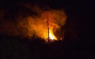 Požar u tvornici papirnatih vrećica u Goli