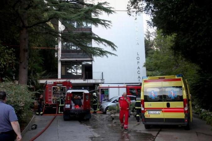 U požaru u psihijatrijskoj bolnici Lopača poginula jedna osoba
